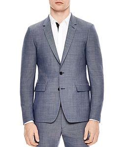 Sandro | Notch Pinpoint Slim Fit Suit Separate