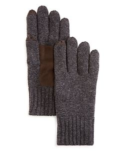 The Men's Store At Bloomingdale's | Suede Patch Tech Gloves