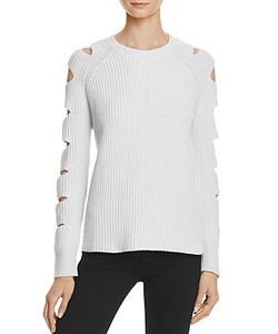 Zoe Jordan | Locke Cutout Sleeve Sweater