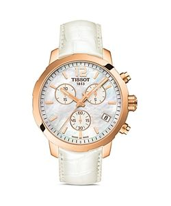 Tissot   Quickster Quartz Watch With Mother Of Pearl Dial 42mm