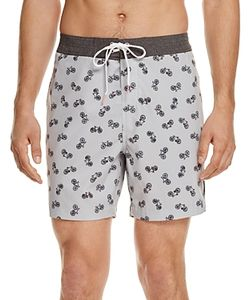 Michael Bastian | Bike Print Swim Trunks