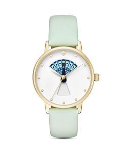 Kate Spade New York | Leather Metro Watch 34mm