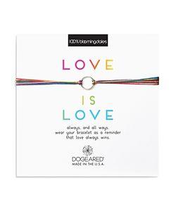 Dogeared   Love Is Love Rainbow Bracelet 100 Exclusive