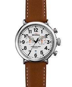 Shinola   Runwell Chronograph Watch 47mm
