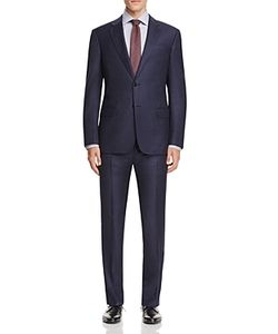 Armani Collezioni | Windowpane Check Classic Fit Suit