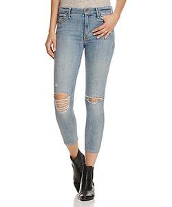 Mother   High Waist Looker Crop Jeans In