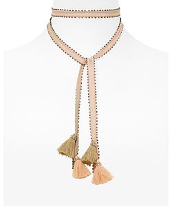 Chanluu | Chan Luu Beaded Tassel Necktie 100 Exclusive