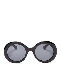 Jimmy Choo | Wendy Round Embellished Sunglasses 48mm