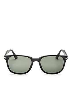 Persol | Oficina Polarized Rectangular Sunglasses 55mm