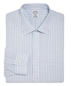 Brooks Brothers | Alternating Grid Check Classic Fit Dress Shirt