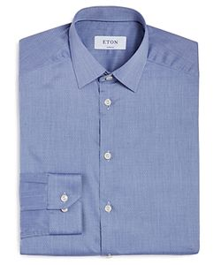 ETON | Of Sweden Extra Small Dot Slim Fit Dress Shirt