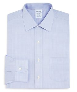 Brooks Brothers | Twin Check Regent Classic Fit Dress Shirt