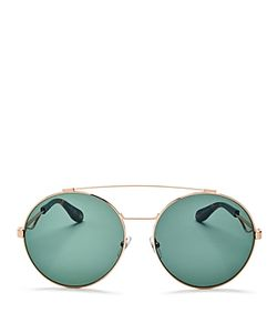 Givenchy   Double Brow Bar Oversized Round Sunglasses 60mm