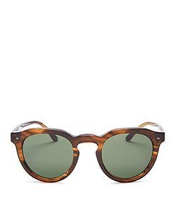 Giorgio Armani | Keyhole Round Sunglasses 47mm