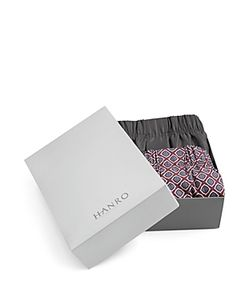 HANRO | Fancy Woven Boxers Pack Of 2