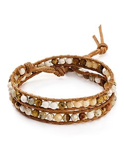 Chanluu | Chan Luu Picture Jasper Mix Wrap Bracelet