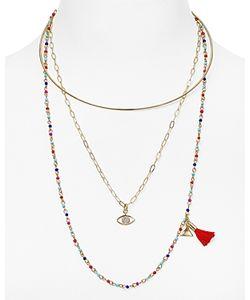 Rebecca Minkoff   Layered Collar Necklace