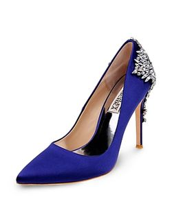 Badgley Mischka | Gorgeous Embellished Pointed Toe Pumps