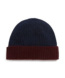 The Men's Store At Bloomingdale's | The Store At Bloomingdales Color Block Cuff Hat