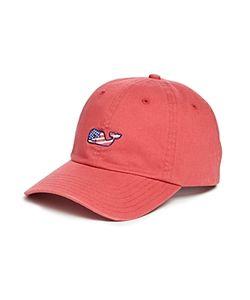 Vineyard Vines   Flag Whale Baseball Hat