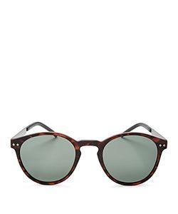Polaroid | Polarized Combination Round Sunglasses 50mm