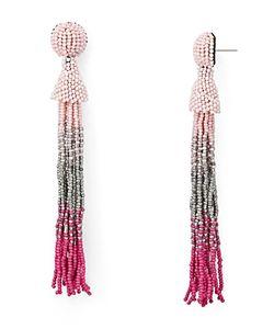 Aqua | Marylse Ombre Tassel Earrings 100 Exclusive