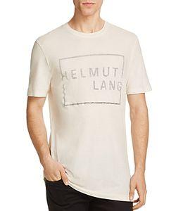 Helmut Lang | Block Logo Graphic Tee