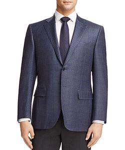Canali   Check Classic Fit Sport Coat