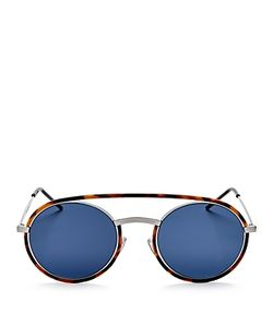 Dior Homme | Synthesis Round Sunglasses 50mm