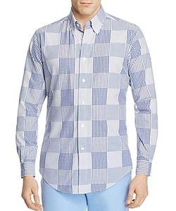 Brooks Brothers | Regent Patchwork Slim Fit Button-Down Shirt