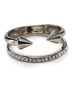 Vita Fede | Ultra Mini Titan Crystal Band Ring