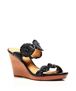 Jack Rogers | Luccia Platform Wedge Slide Sandals