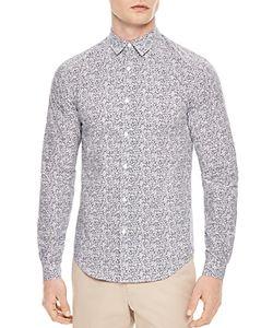 Sandro   Love Slim Fit Button-Down Shirt