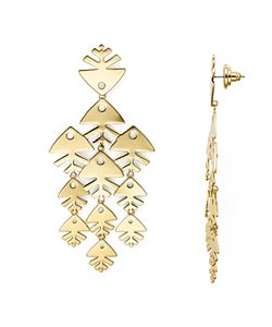 Tory Burch | Fish Chandelier Drop Earrings