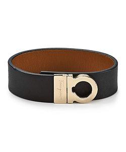 Salvatore Ferragamo | Leather Sienne Gancini Wrap Bracelet