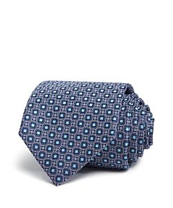 Canali   Medallion Neat Classic Tie