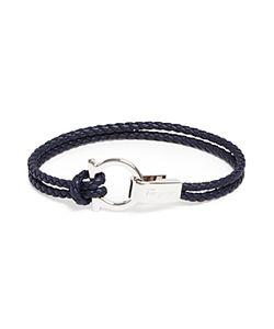 Salvatore Ferragamo | Braided Double Wrap Bracelet With Gancio Closure