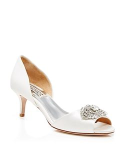 Badgley Mischka | Open Toe Pumps Petrina Broach