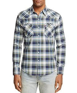 Levi's | Barstow Western Plaid Regular Fit Snap Front Shirt