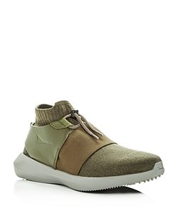 Brandblack | Mens Gama Knit Slip-On Sneakers