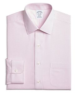 Brooks Brothers | Regent Shadow Hairline Check Classic Fit Dress Shirt