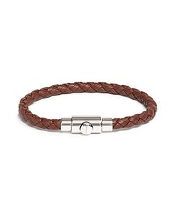 Salvatore Ferragamo | Woven Bracelet With Prong Closure