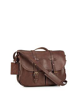 Ralph Lauren | Polo Core Leather Messenger Satchel