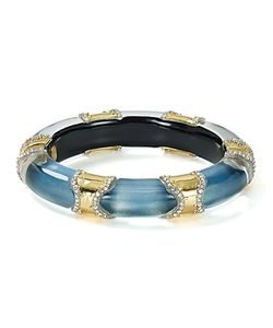 Alexis Bittar | Pave Segmented Lucite Hinge Bangle
