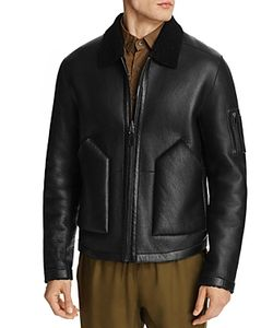 Ovadia & Sons | Reversible Leather Shearling Jacket