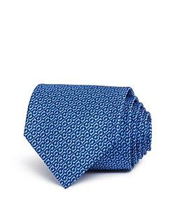 Salvatore Ferragamo | Abstract Gancini Chain Print Classic Tie
