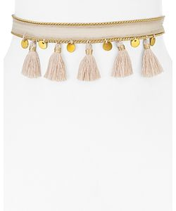 Chanluu | Chan Luu Chiffon Tassel Wrap Choker Necklace 24