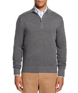 Brooks Brothers | Textured Half-Zip Sweater
