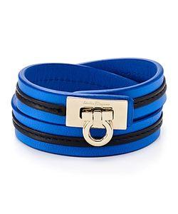 Salvatore Ferragamo | Leather Wrap Bracelet