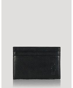 Ralph Lauren | Polo Burnished Card Case With Money Clip